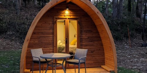 Glamping Park Pods